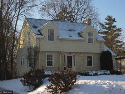 Edina Single Family Home For Sale: 4403 Morningside Road
