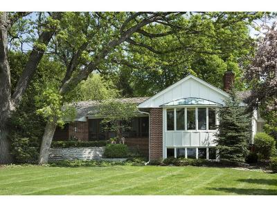 Minneapolis Single Family Home For Sale: 4721 E Lake Harriet Parkway
