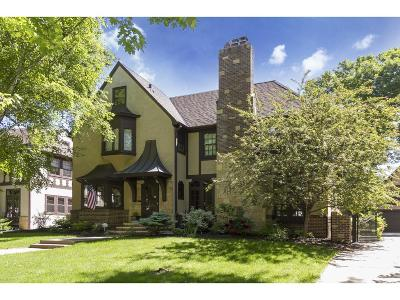Edina Single Family Home For Sale: 4625 Drexel Avenue