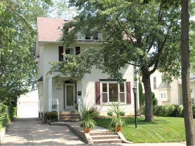 Minneapolis Single Family Home For Sale: 4325 Colfax Avenue S