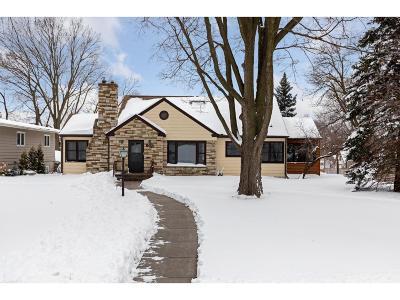 Saint Paul Single Family Home For Sale: 603 Mount Curve Boulevard