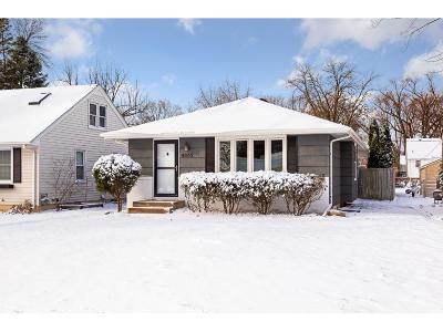Saint Louis Park Single Family Home For Sale: 4052 Toledo Avenue S