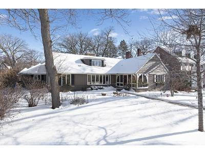 Saint Paul Single Family Home For Sale: 180 Mississippi River Boulevard S