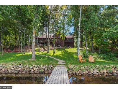 Pequot Lakes Single Family Home For Sale: 6184 Inland Trails Road