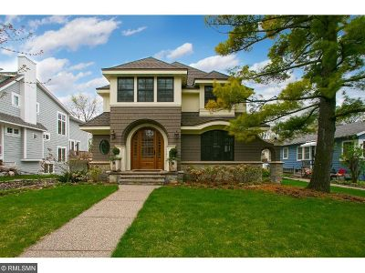 Wayzata Single Family Home For Sale: 412 Rice Street E