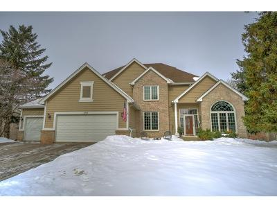 Eagan Single Family Home Contingent: 3753 Bayberry Lane