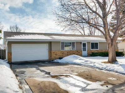 New Hope Single Family Home Contingent: 8501 46th Avenue N