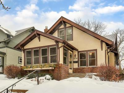 Saint Paul Single Family Home For Sale: 2114 Fairmount Avenue