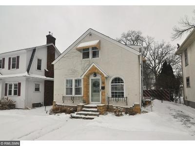 Minneapolis MN Single Family Home For Sale: $185,000