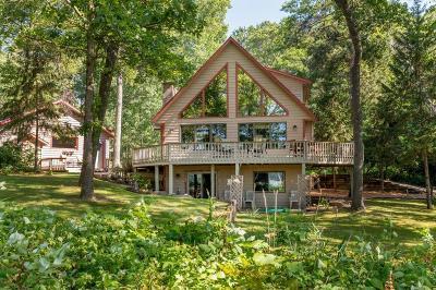Pequot Lakes Single Family Home For Sale: 8703 Ruttger Road