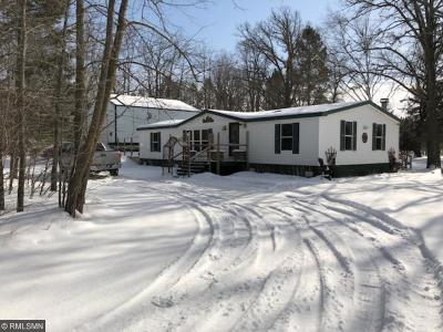 Morrison Twp MN Single Family Home For Sale: $139,000