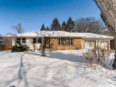 Saint Paul Single Family Home For Sale: 1669 Upper Afton Road