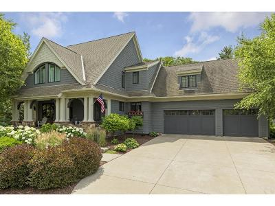 Mahtomedi Single Family Home For Sale: 584 Woodland Drive