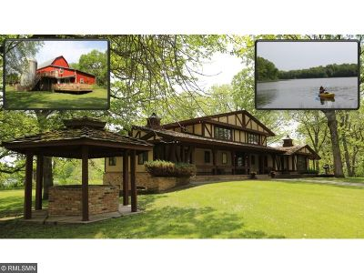 Meeker County Single Family Home For Sale: 21398 575th Avenue