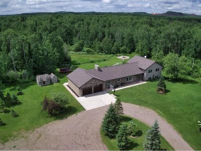 Hibbing, Chisholm Single Family Home For Sale: 4611 County Rd 5