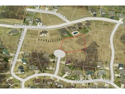 Residential Lots & Land For Sale: 19547 Albany Circle NW