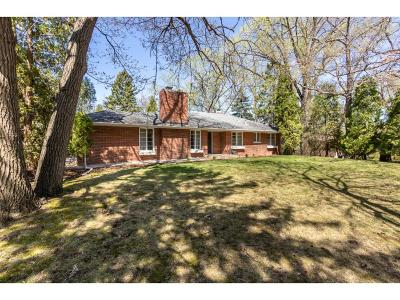 Single Family Home For Sale: 5824 Hansen Road