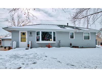 Coon Rapids Single Family Home Contingent: 11364 N Heights Drive NW