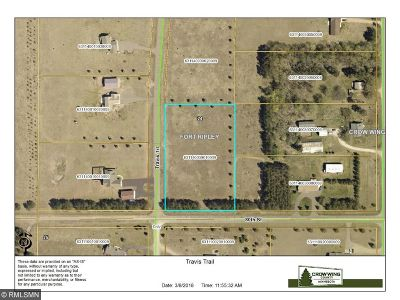 Brainerd Residential Lots & Land For Sale: Xxx Travis Trail