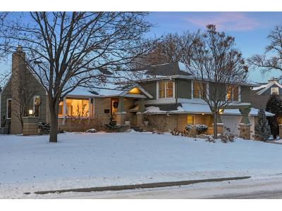 Edina Single Family Home Sold: 4808 Lakeview Drive