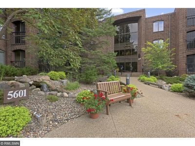 Hennepin County Condo/Townhouse For Sale: 5601 Dewey Hill Road #215