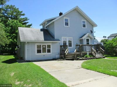 Aitkin Single Family Home For Sale: 314 3rd Avenue NW