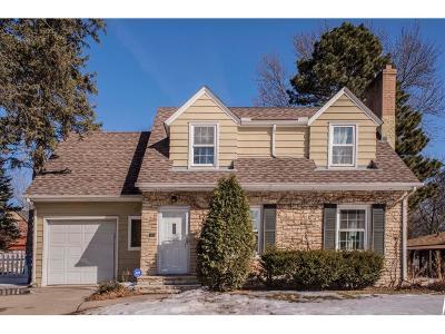 Edina MN Single Family Home For Sale: $695,000