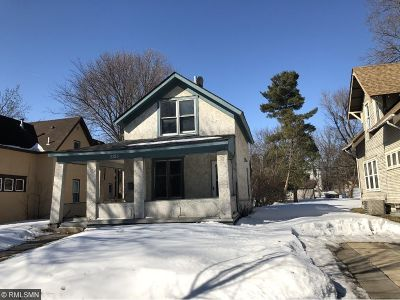 Minneapolis MN Single Family Home For Sale: $99,900