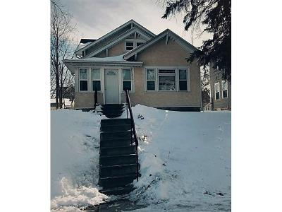 Minneapolis MN Single Family Home For Sale: $189,900