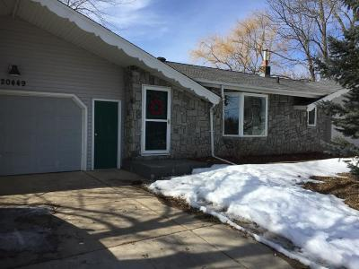 Lakeville Single Family Home For Sale: 20449 Hamburg Avenue