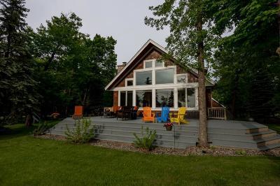 Longville, Hackensack Single Family Home For Sale: 7665 Partridge Point Drive NE