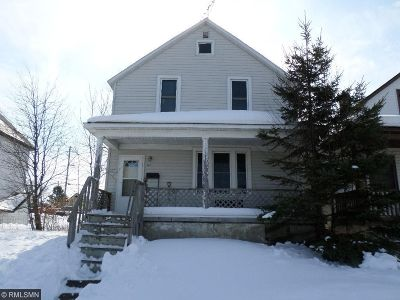 Chisholm, Hibbing Single Family Home For Sale: 405 3rd Street SW