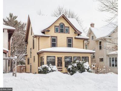 Minneapolis MN Single Family Home For Sale: $509,000