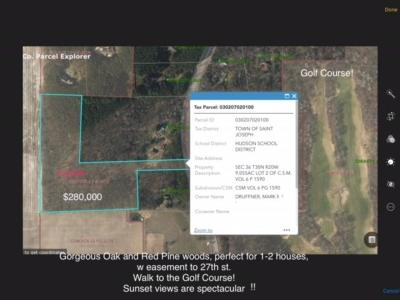 Hudson Residential Lots & Land For Sale: 1288 27th Street