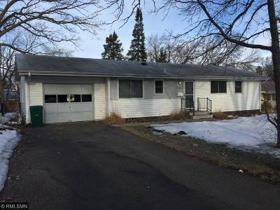 Crystal Single Family Home For Sale: 3549 Hampshire Avenue N