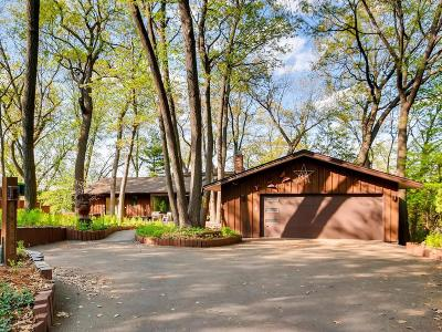 Chisago County, Washington County Single Family Home For Sale: 8024 Hill Trail N