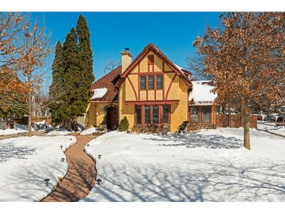 Saint Paul Single Family Home For Sale: 444 Fairview Avenue S
