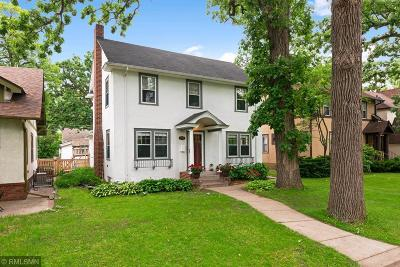 Saint Paul Single Family Home For Sale: 1808 Wellesley Avenue