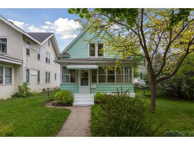 Minneapolis Single Family Home For Sale: 3841 Garfield Avenue S