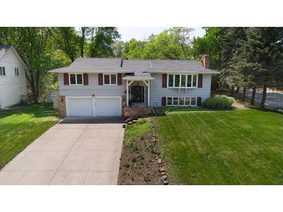 Fridley Single Family Home For Sale: 1404 W Danube Road