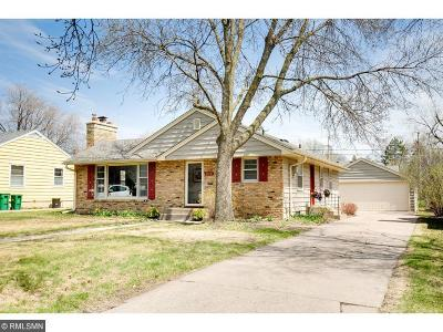 Robbinsdale Single Family Home Sold: 4536 Grimes Avenue N
