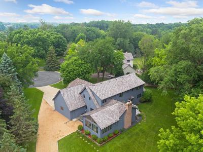 Wayzata, Plymouth Single Family Home For Sale: 191 Hunters Glen Road