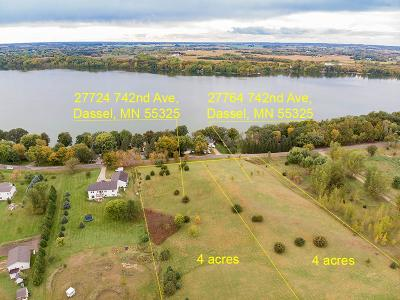 Dassel Residential Lots & Land For Sale: 27764 742nd Avenue