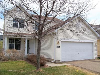 Circle Pines Condo/Townhouse For Sale: 301 Evergreen Lane