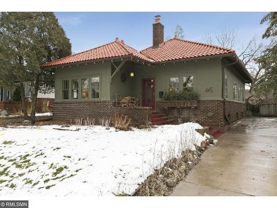 Minneapolis Single Family Home For Sale: 445 Oliver Avenue S