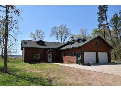 Pequot Lakes Single Family Home For Sale: 4649 County Road 145