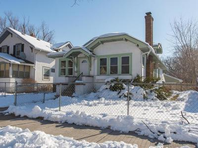 Minneapolis Single Family Home Contingent: 2626 Knox Avenue N