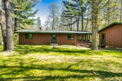 Chisago County, Isanti County, Pine County, Kanabec County Single Family Home For Sale: 35435 Wild Mountain Road