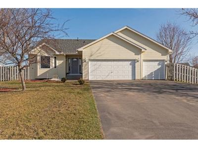 Isanti Single Family Home Contingent: 1005 Wentlock Court NW