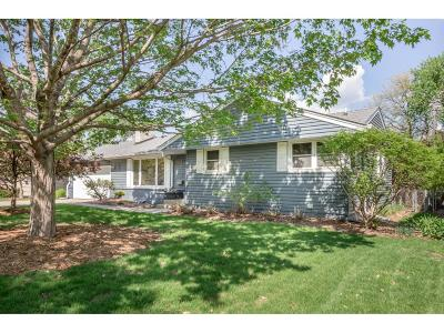 Edina Single Family Home For Sale: 6509 Wilryan Avenue